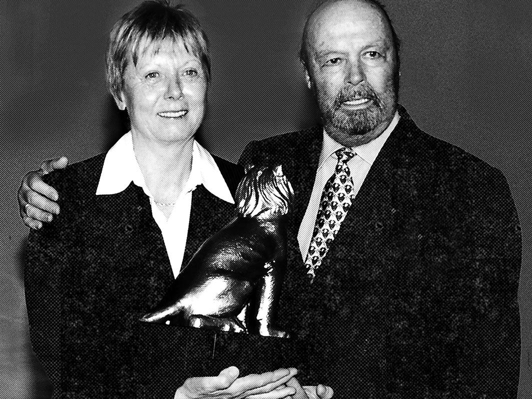 Annemarie Moser und Toni Sailer