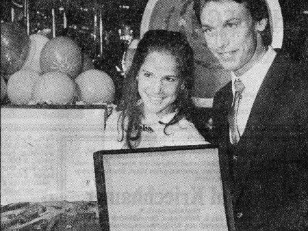 Monika Frisch und Niki Stajkovic